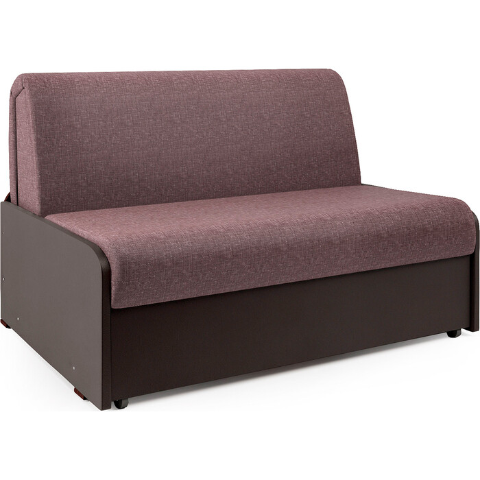 Диван-кровать Шарм-Дизайн Коломбо БП 100 латте и экокожа шоколад недорого