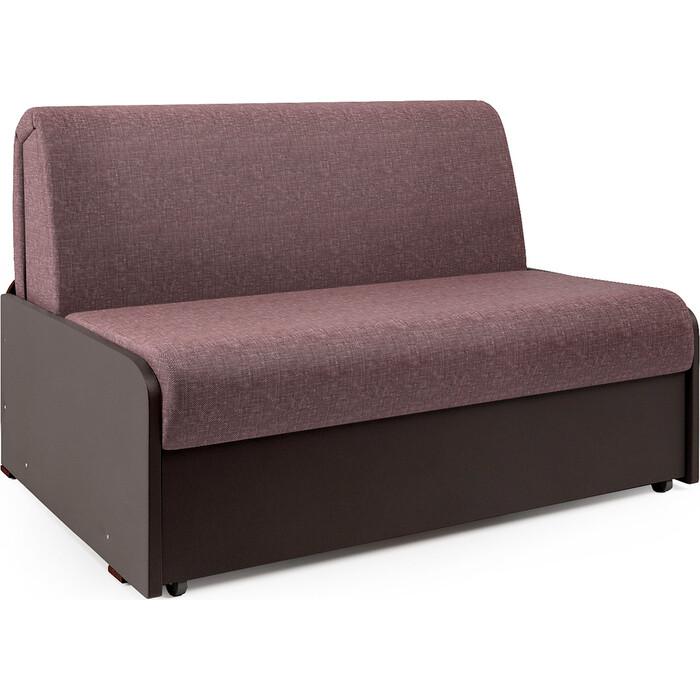 Диван-кровать Шарм-Дизайн Коломбо БП 120 латте и экокожа шоколад недорого