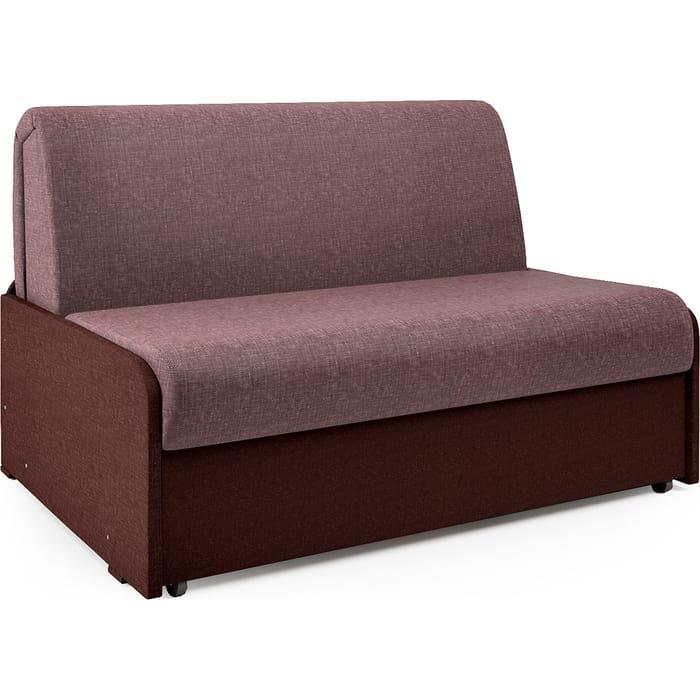 Диван-кровать Шарм-Дизайн Коломбо БП 140 латте и шоколад недорого