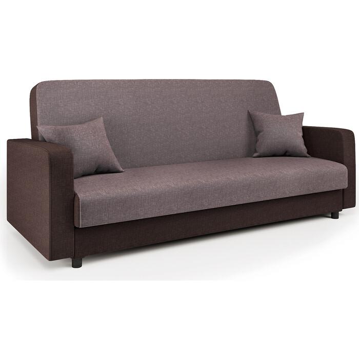 Диван-кровать Шарм-Дизайн Мелодия 120 шоколад и латте