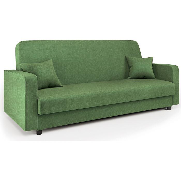 Диван-кровать Шарм-Дизайн Мелодия 140 зеленый