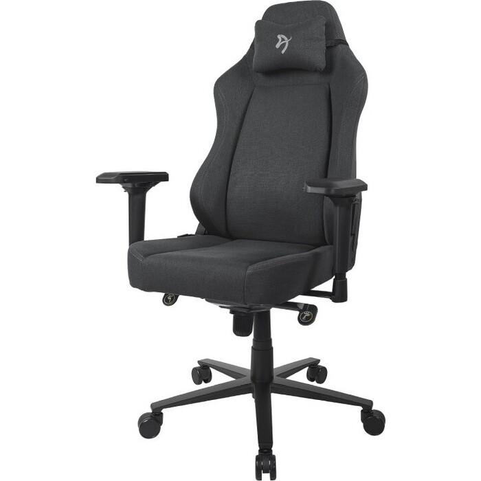 Компьютерное кресло (для геймеров) Arozzi Primo Woven Fabric black-grey logo