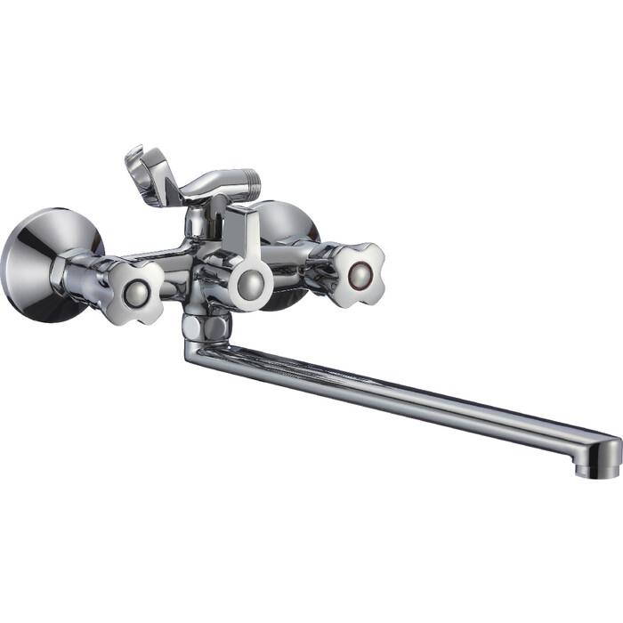 Смеситель для ванны РМС SL116 с душем, хром (SL116-140)