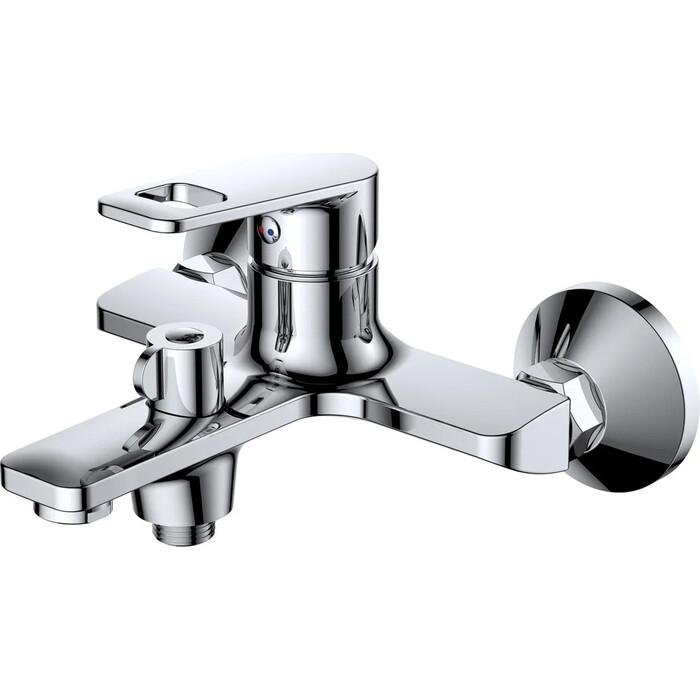 Смеситель для ванны РМС SL134 с душем, хром (SL134-009E)
