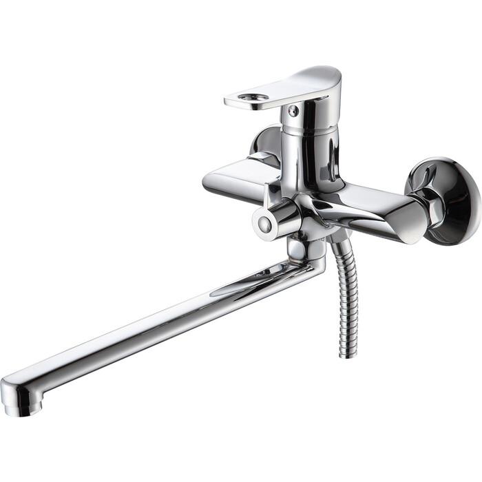 Смеситель для ванны РМС SL137 с душем, хром (SL137-006E)