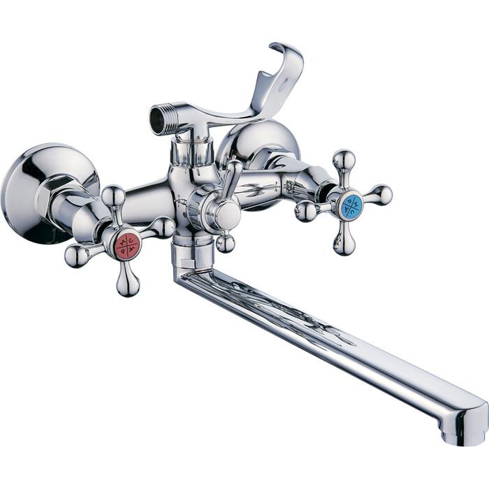 Смеситель для ванны РМС SL71 с душем, хром (SL71-143P)