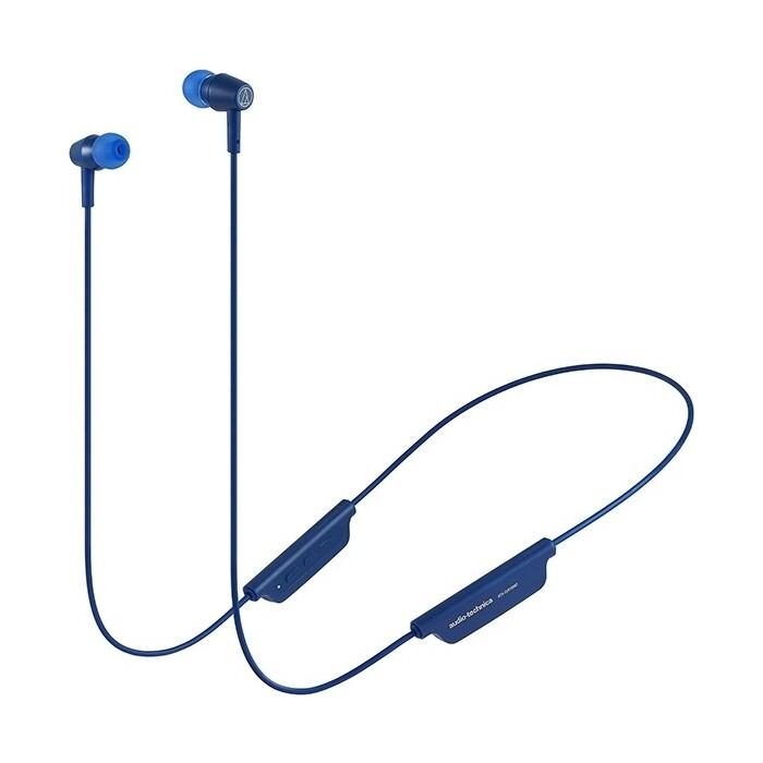 Наушники Audio-Technica ATH-CLR100BT blue