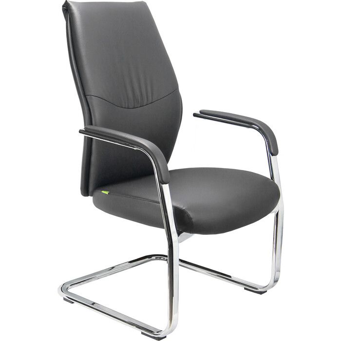Кресло Riva Chair RCH С9384 черный экокожа
