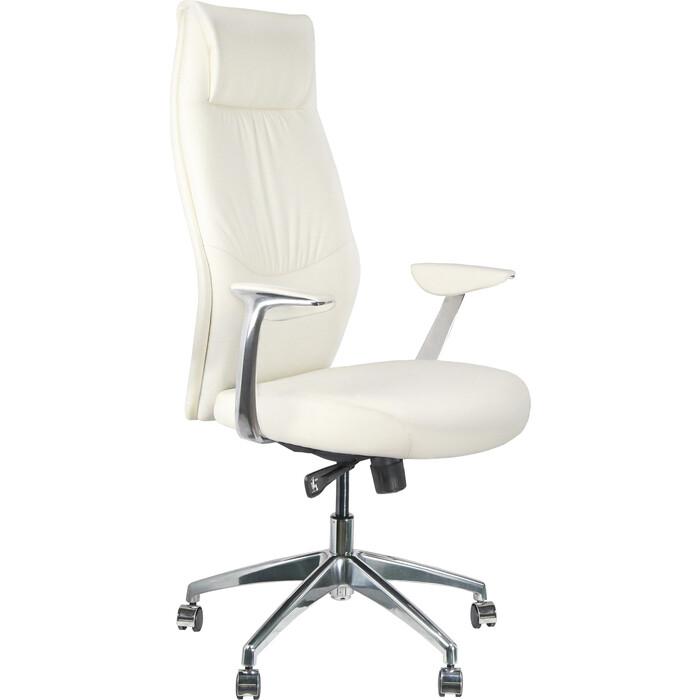 Кресло Riva Chair RCH A9184 белый экокожа