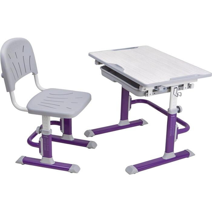 Комплект FunDesk Cubby парта и стул-трансформеры Lupin VG