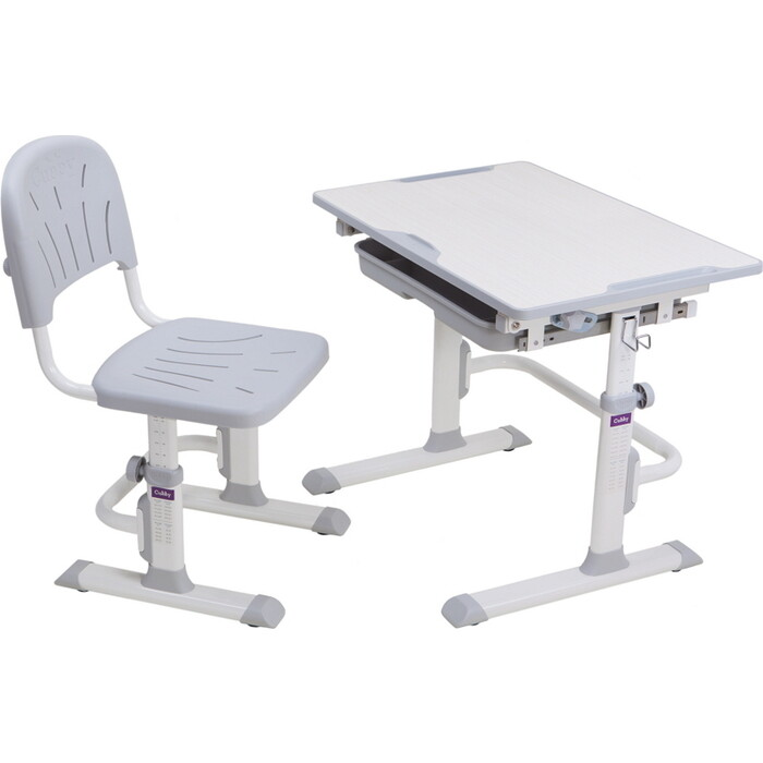 Комплект FunDesk Cubby парта и стул-трансформеры Lupin WG
