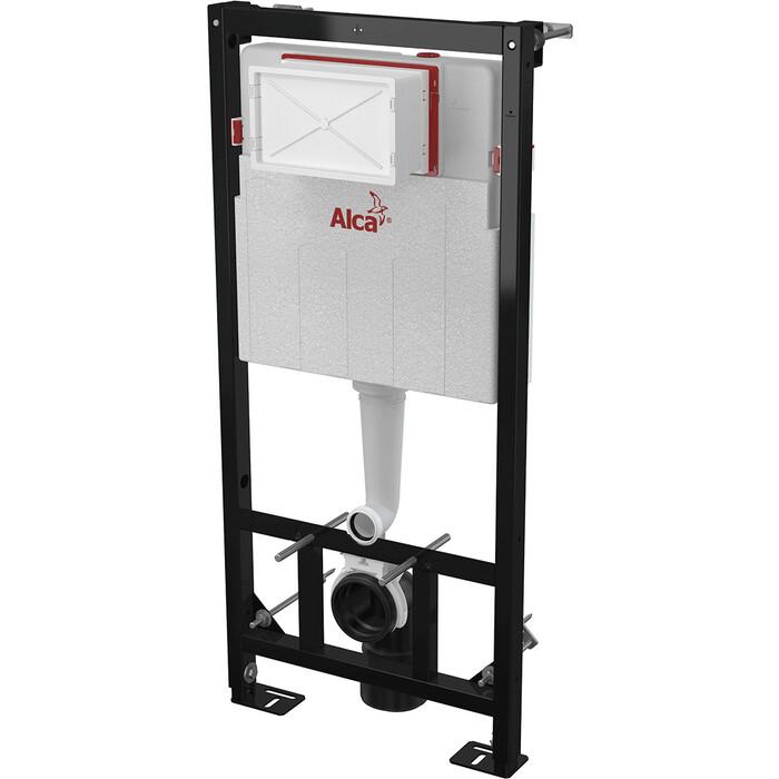 Инсталляция для унитаза AlcaPlast сухой установки (для гипсокартона) (AM101/1120W)