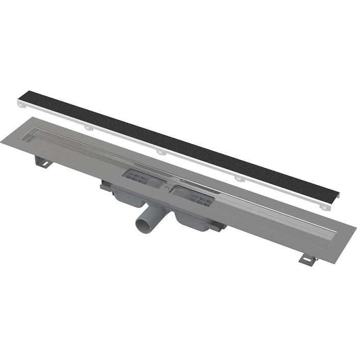 Душевой лоток AlcaPlast Marble Low без порогов с решеткой под кладку плитки (APZ115-650)