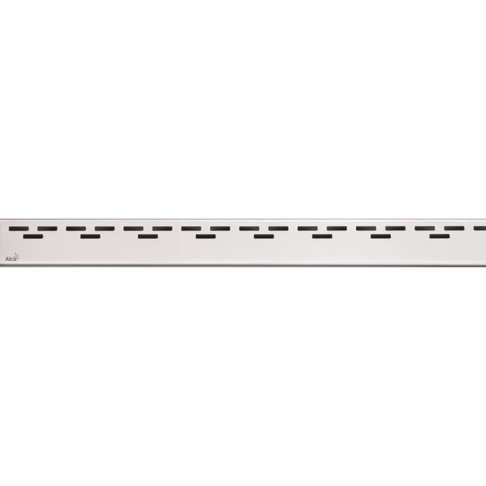 Решетка AlcaPlast Hope нержавеющая сталь матовая (HOPE-550M)