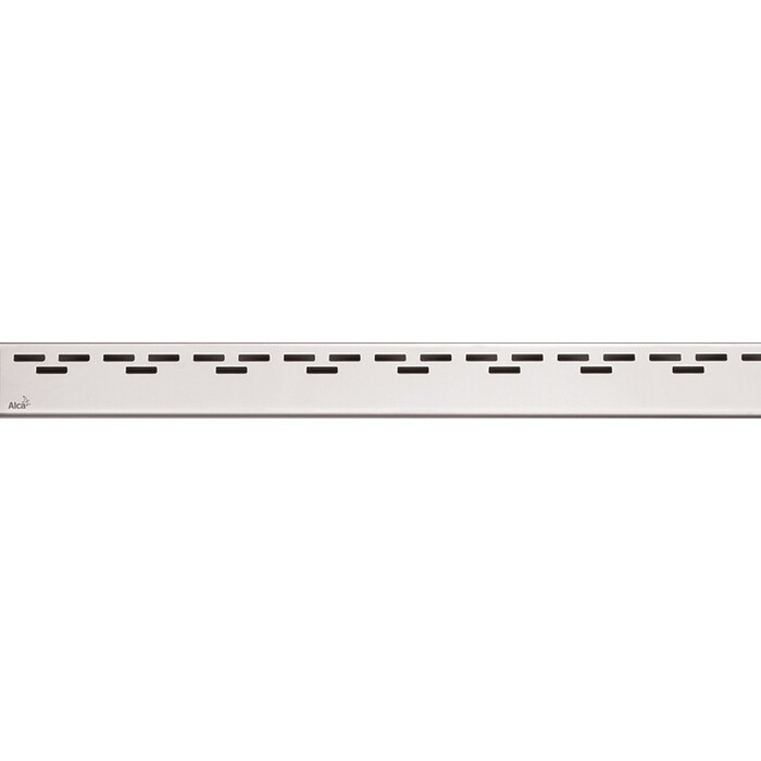 Решетка AlcaPlast Hope нержавеющая сталь матовая (HOPE-650M)