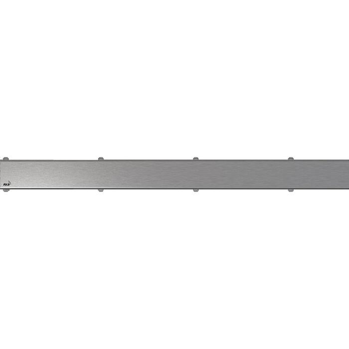 Решетка AlcaPlast Space нержавеющая сталь матовая, для Modular (SPACE-750M)