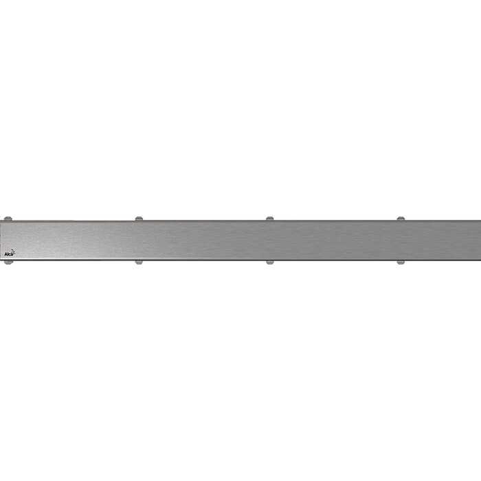 Решетка AlcaPlast Space нержавеющая сталь матовая (SPACE-950M)