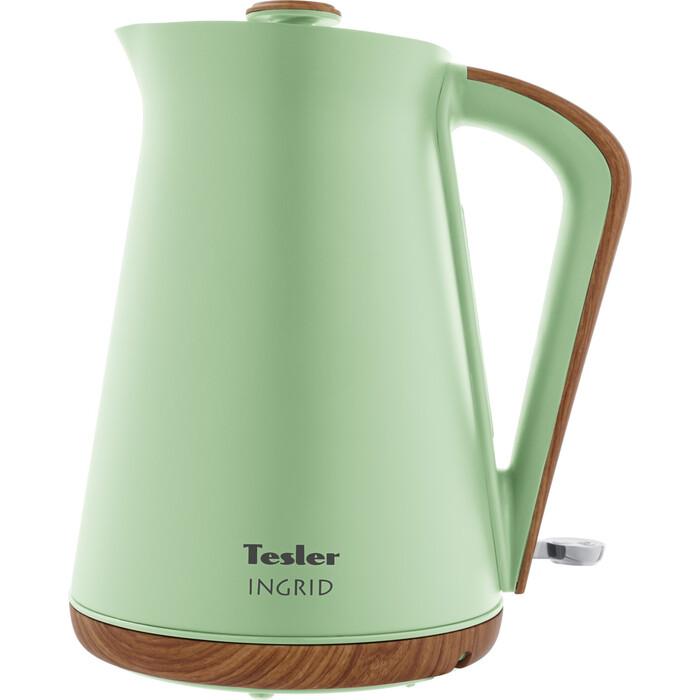 Фото - Чайник электрический Tesler KT-1740 GREEN чайник tesler kt 1755 red