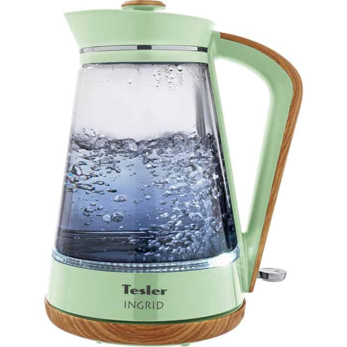 Фото - Чайник электрический Tesler KT-1750 GREEN чайник tesler kt 1755 red