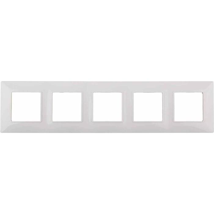 Рамка ЭРА 5-постовая Elegance 14-5005-01 Б0034405