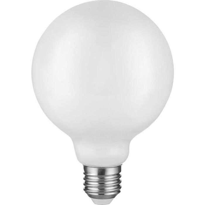 Лампа ЭРА светодиодная филаментная E27 12W 2700K опал F-LED G95-12w-827-E27 opal Б0047036