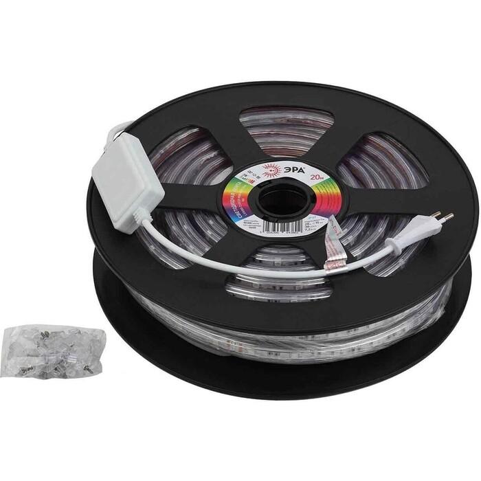 Лента ЭРА Светодиодная влагозащищенная 7,2W/m 30LED/m 5050SMD RGB 20M LS5050-7,2-30-220-RGB-IP67-20m Б0043096