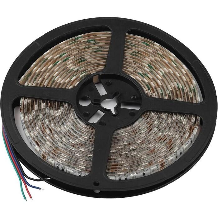 Лента ЭРА Светодиодная влагозащищенная 14,4W/m 60LED/m 5050SMD RGB 5M KU-5050AD-60D-RGB Б0044123