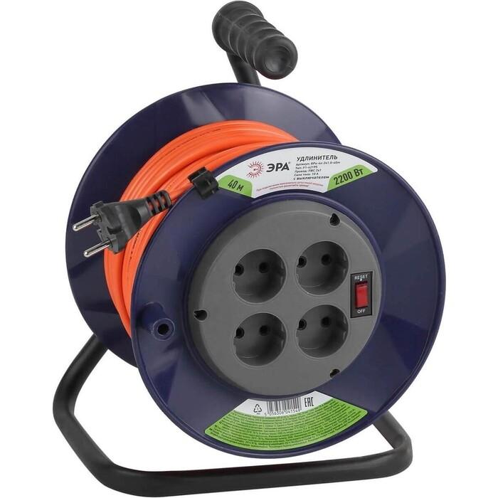 Удлинитель ЭРА силовой RPx-4s-2x1.0-40m Б0043051