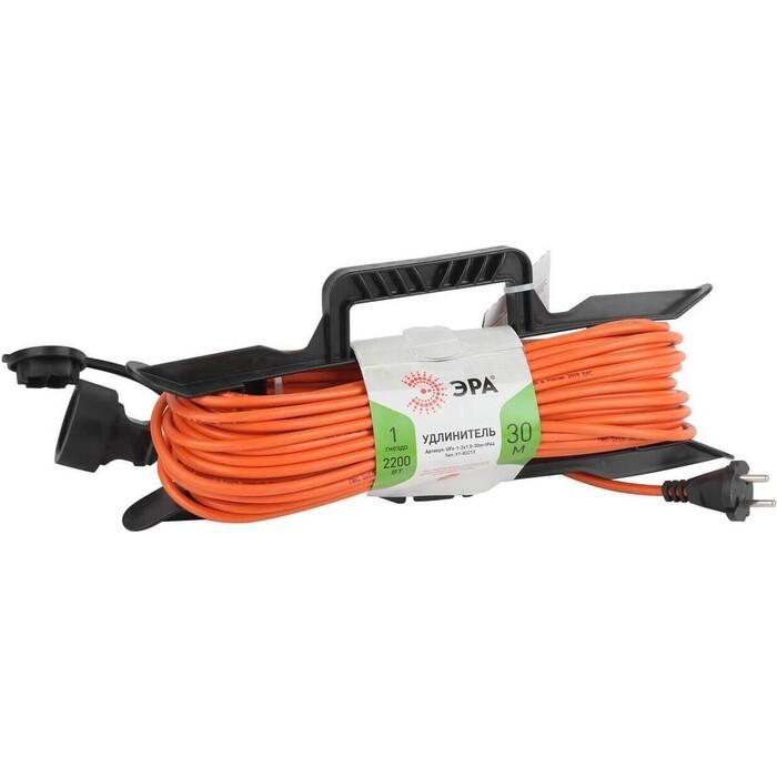 Удлинитель ЭРА силовой UFx-1-2x1.0-30m-IP44 Б0043041