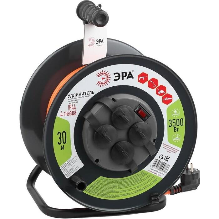 Удлинитель ЭРА силовой RMx-4es-3x1.5-30m-IP44 Б0046850