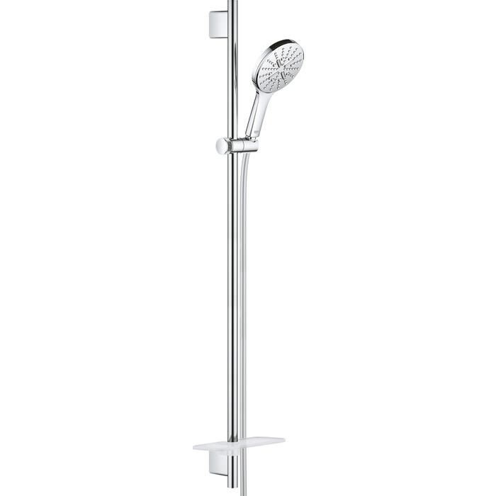 Душевой гарнитур Grohe Rainshower SmartActive с полочкой, 90 см, хром (26548000)