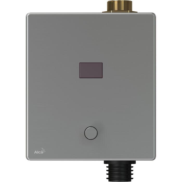 Фото - Панель смыва бесконтактная AlcaPlast для унитаза с возможностью мануального смыва, 12V от сети (ASP3-KT) панель смыва бесконтактная alcaplast для писсуара 6v от батарейки asp4 b