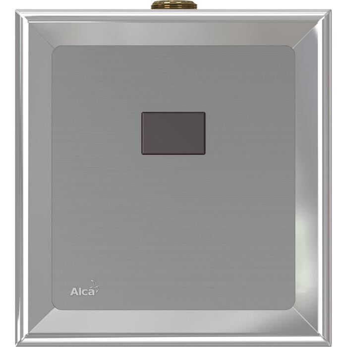 Панель смыва бесконтактная AlcaPlast для писсуара, 6V от батарейки (ASP4-B)