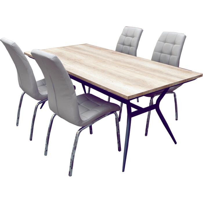 Набор мебели Garden story Бергамо бежевый K-171/W-120/1 бежевый/бежевый