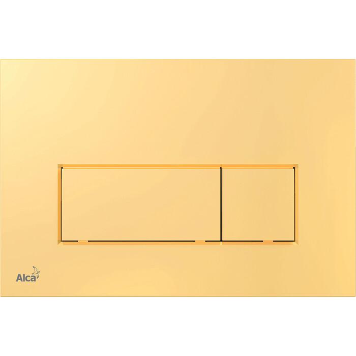 Фото - Кнопка смыва AlcaPlast золото (M575) кнопка смыва alcaplast m1732 xром мат