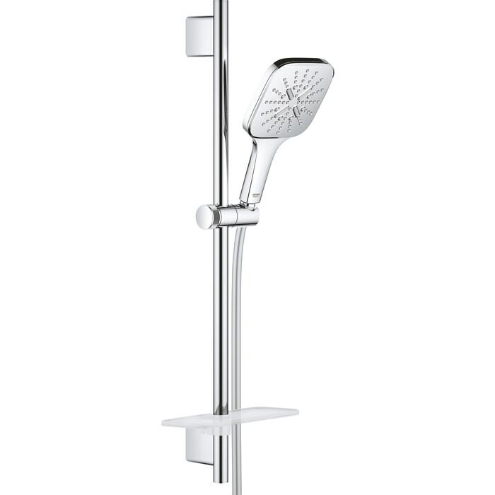 Душевой гарнитур Grohe Rainshower SmartActive с полочкой, 3 режима струи, хром (26583000)