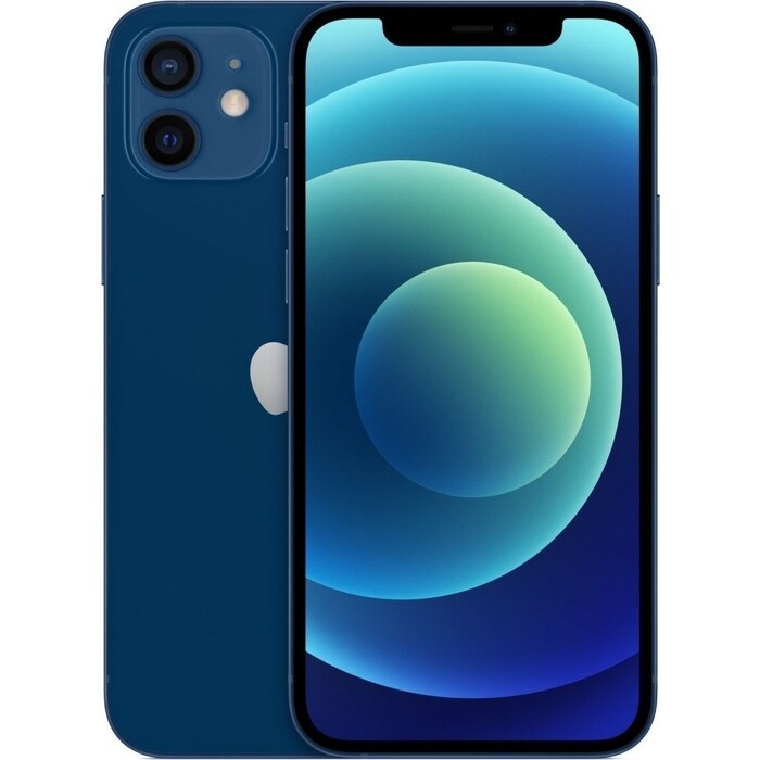 Фото - Смартфон Apple iPhone 12 64Gb blue смартфон apple iphone 11 64gb 2020 белый