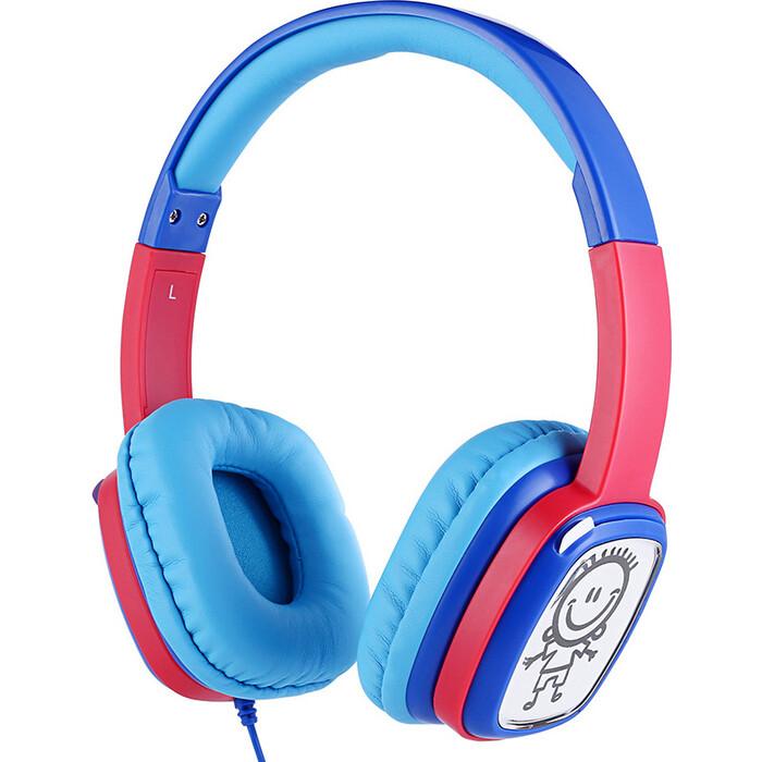 Наушники HARPER KIDS HN-302 Blue-Red