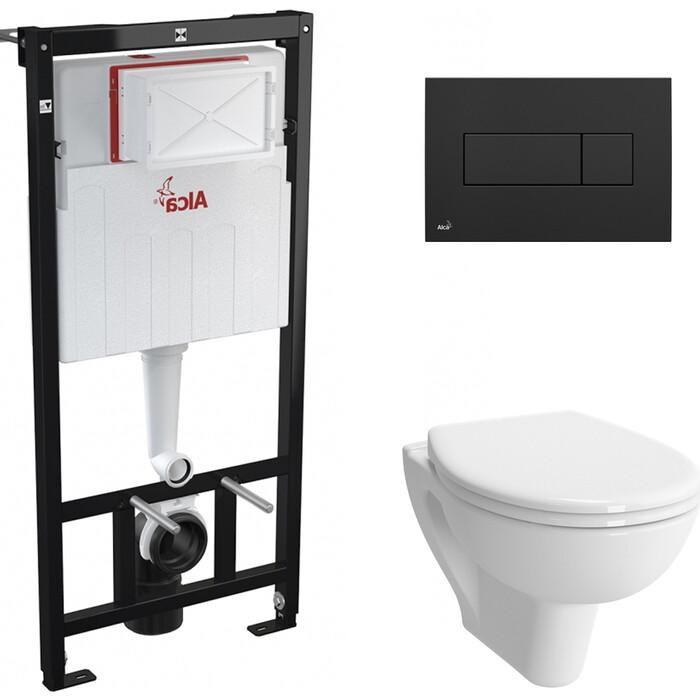 Комплект унитаза Vitra S20 с инсталляцией, кнопкой, сиденьем микролифт (7741B003-0075, 800-003-009, AM101/1120, M378)