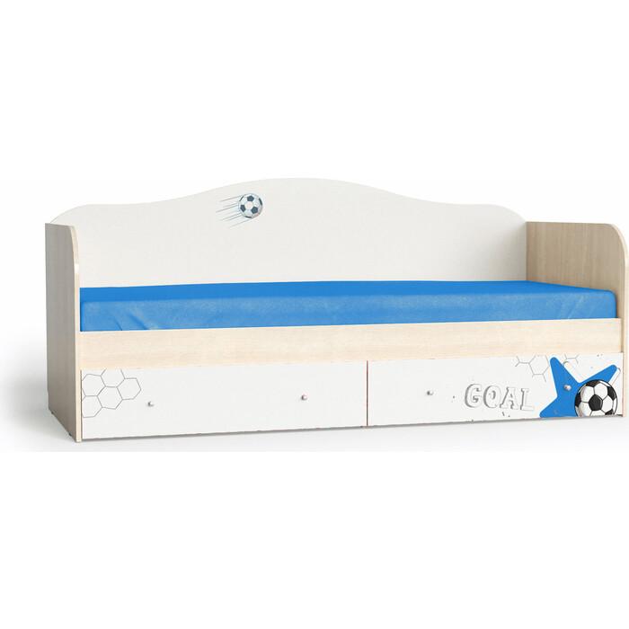Мама Кровать для детской Футбол корпус шимо светлый