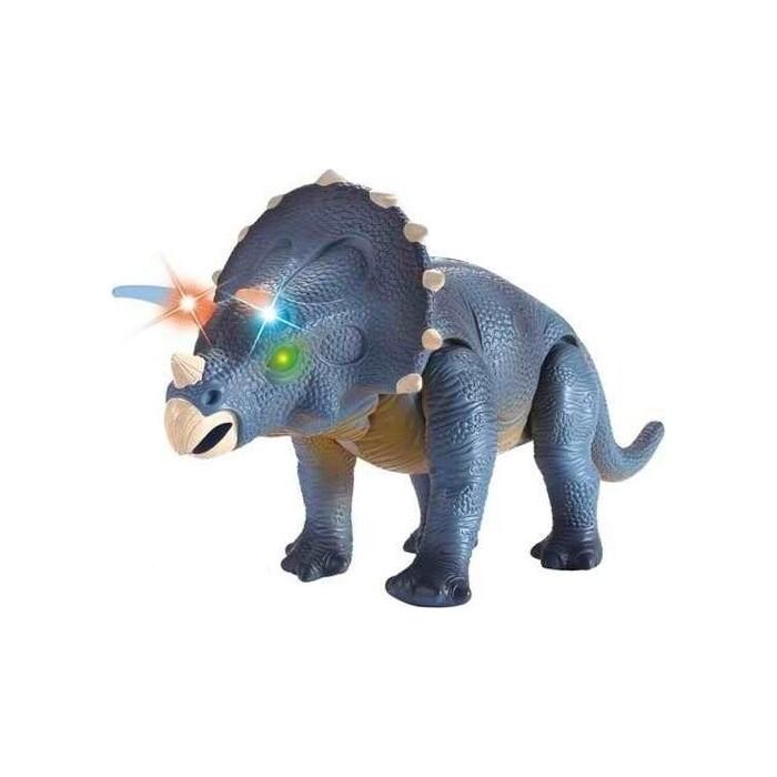 Радиоуправляемый динозавр CS Toys Трицератопс (39 см, свет, звук) - 9982