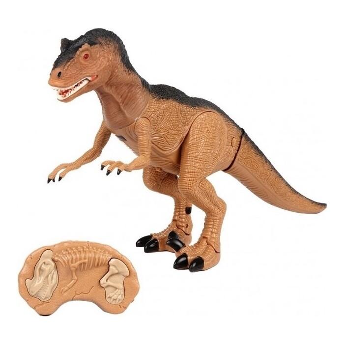 Радиоуправляемый динозавр CS Toys Тираннозавр (52 см, свет, звук, акк+зу) - RS6122A