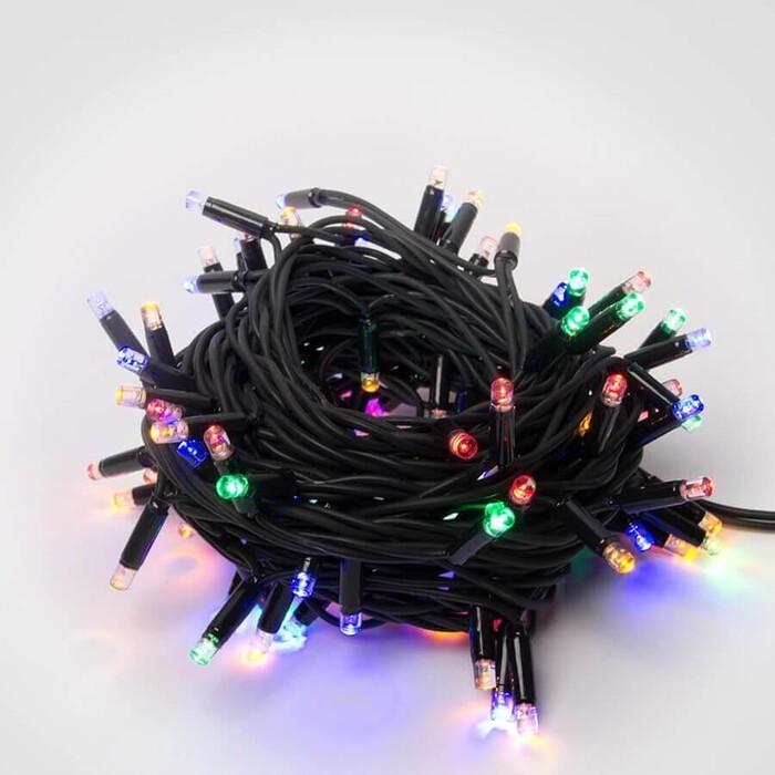 Гирлянда светодиодная уличная Uniel 220V разноцветный ULD-S1000-120/TBK Multi IP67