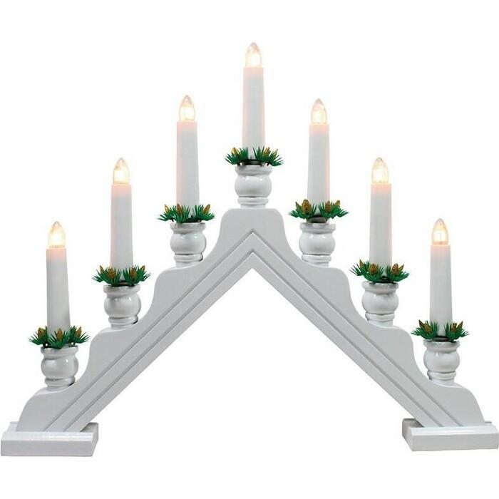 Фигурка Uniel Новогодняя горка 34х39 см (UL-00007389) UDL-L7301-007/SWA/WW White Bridge