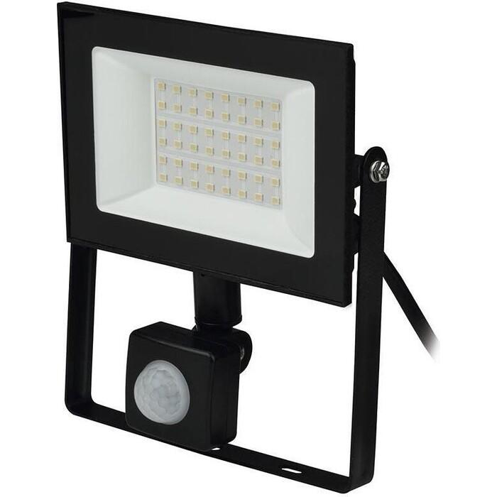 Прожектор Uniel светодиодный (UL-00007126) 30W ULF-F62-50W/6500K Sensor IP54 200-240В Black