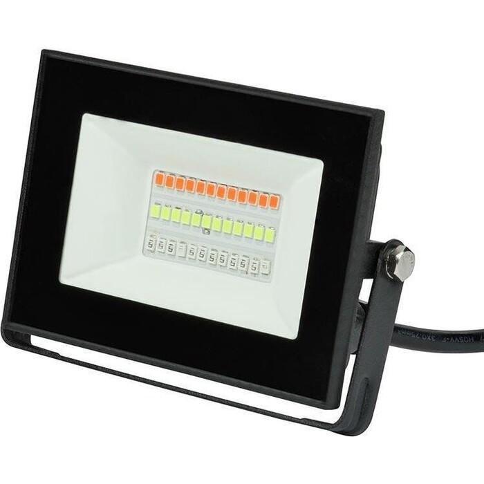 Прожектор Uniel светодиодный (UL-00007144) 20W ULF-F60-20W/RGB IP65 200-240В Black