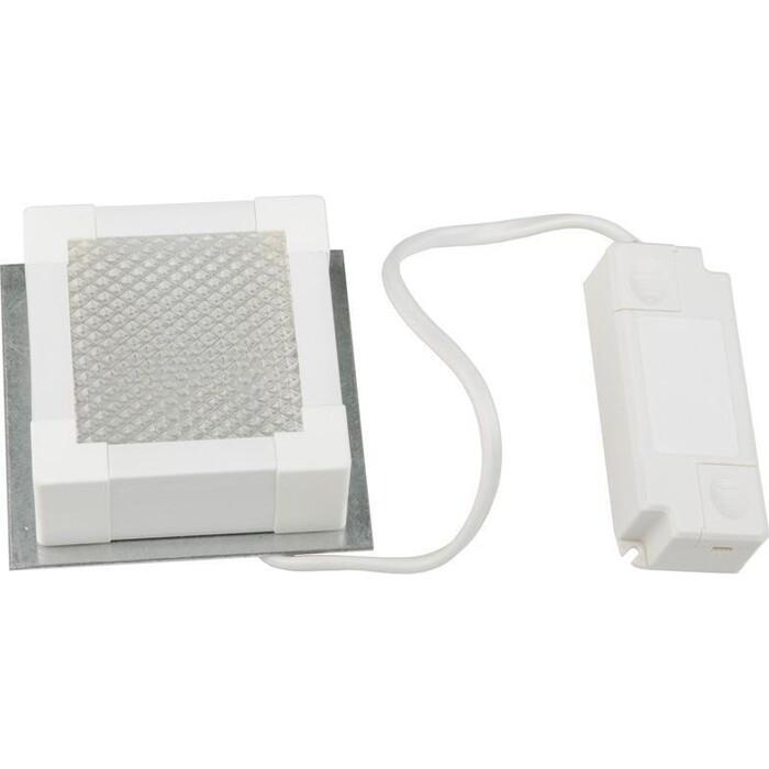 Светильник Uniel Встраиваемый светодиодный (UL-00007426) ULP-1010 7W/4000K Ip40 Grilyato White
