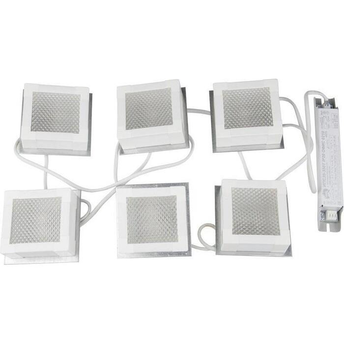 Светильник Uniel Встраиваемый светодиодный (UL-00007427) ULP-1010 42W/4000K IP40 Grilyato White KIT06