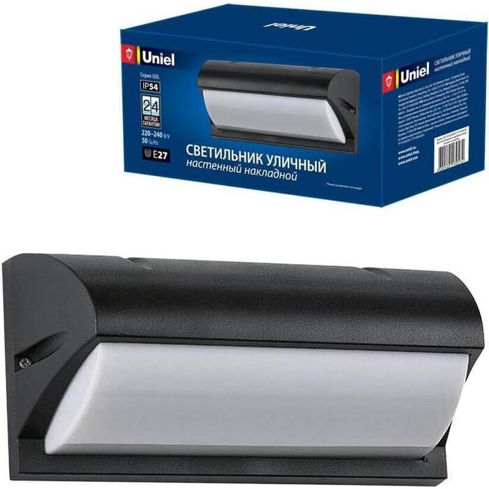 Светильник Uniel Уличный настенный (UL-00006807) UUL-S07A 60W/E27 IP54 Black