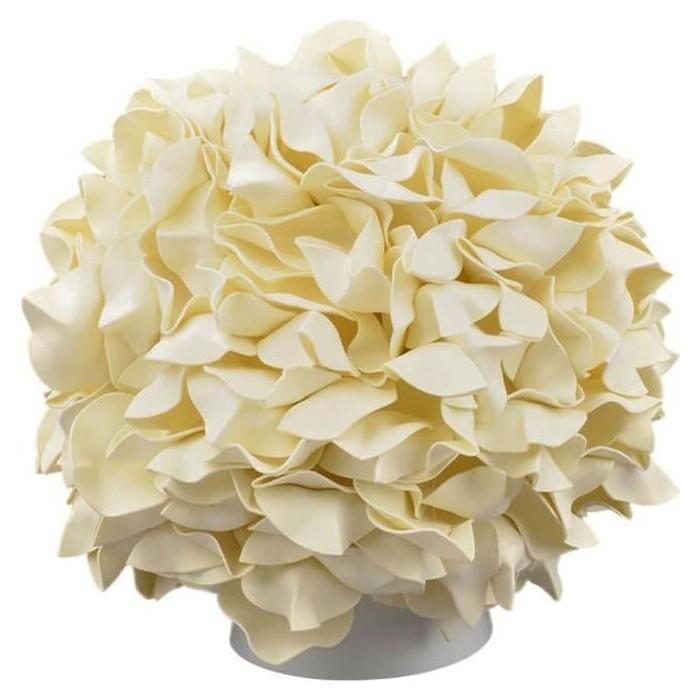 Настольная лампа Uniel (UL-00007230) ULW-R07 T/3000K/150C/A Гортензия Белый/Сливочный десерт